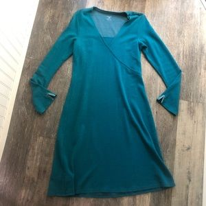 Horny Toad | Teal Knit Dress